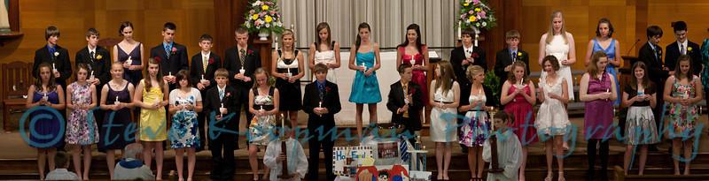 2011 Holy Family Graduation