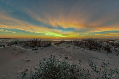 San Luis Pass - Sunrise  3-6-19