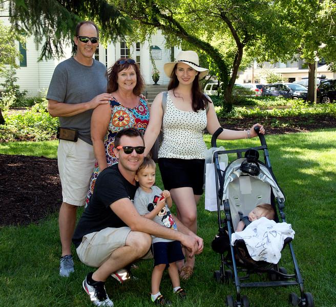 Robin, Scott & family
