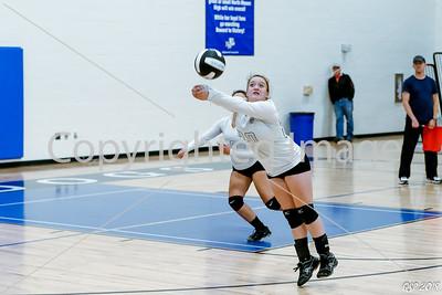 North Mason vs Bremerton Volleyball 10-05-17