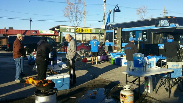 Lions tailgate 102515