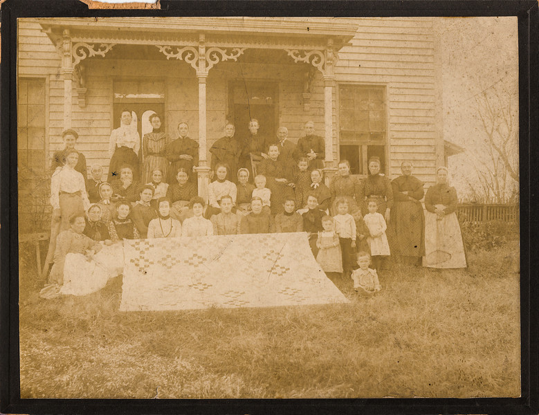 Smith Family - Hannah Smith Sullivan - 3rd person from left in row 2.jpg