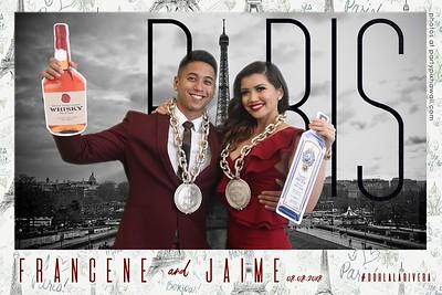 Francene & Jamie's Wedding (Green Screen Party Portraits)
