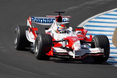 2006 Panasonic Toyota TF106 F1 - On Track - Monterey Historics