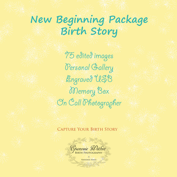 New Beginning Packages