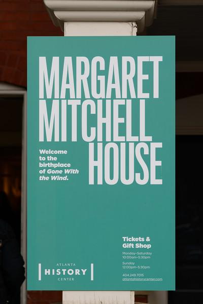 2017 12 31 Atlanta Margaret Mitchell House
