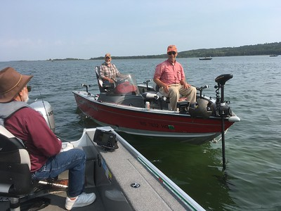 FISHING TRIP TO LEECH LAKE  9/2017