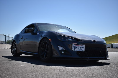 Spencer's 2013 Scion FR-S on 17x9 +42 in Flat Black Grids