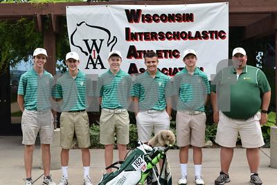 Varsity Golf at State Tournament