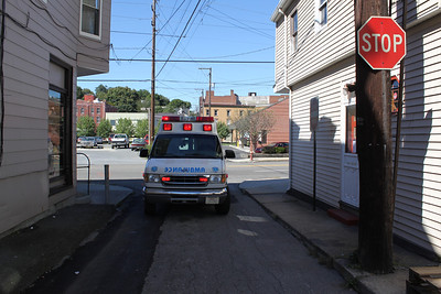 Vehicle Accident, Center Street, Tamaqua (9-18-2011)