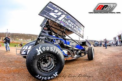Lincoln Speedway - 4/21/18 - David Dellinger