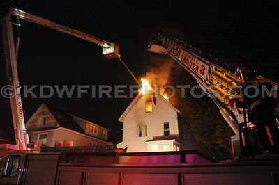 Lawrence, MA - 3rd Alarm - 58-60 Bellevue St - 11/30/10