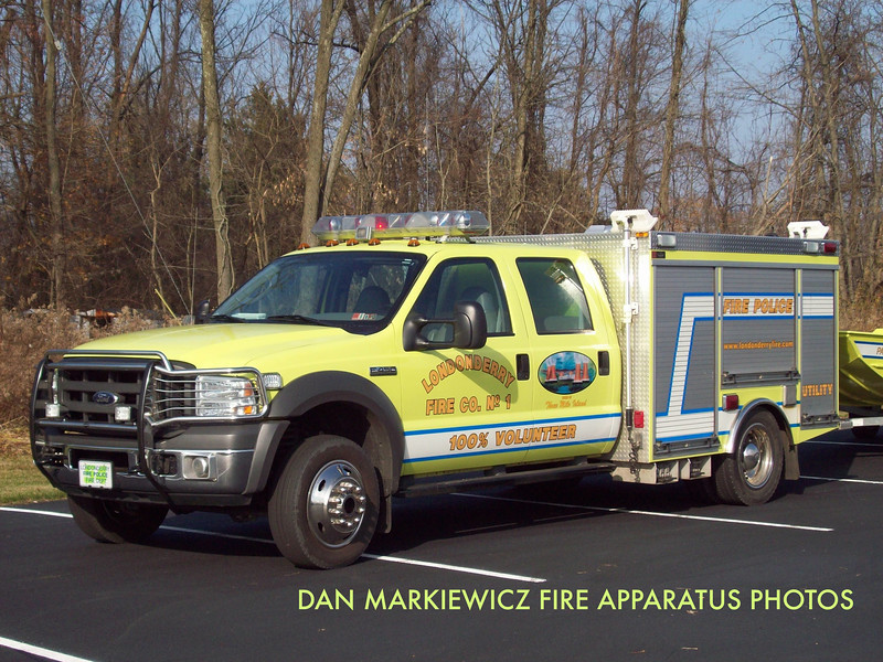 LONDONDERRY FIRE CO. UTILITY 54 2005 FORD/SWAB UTILITY