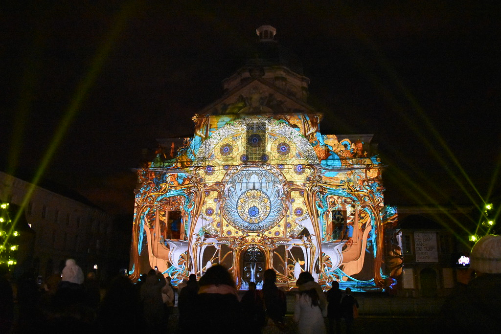 Ghent Light Festival art installation The Time Paradox by Limelight