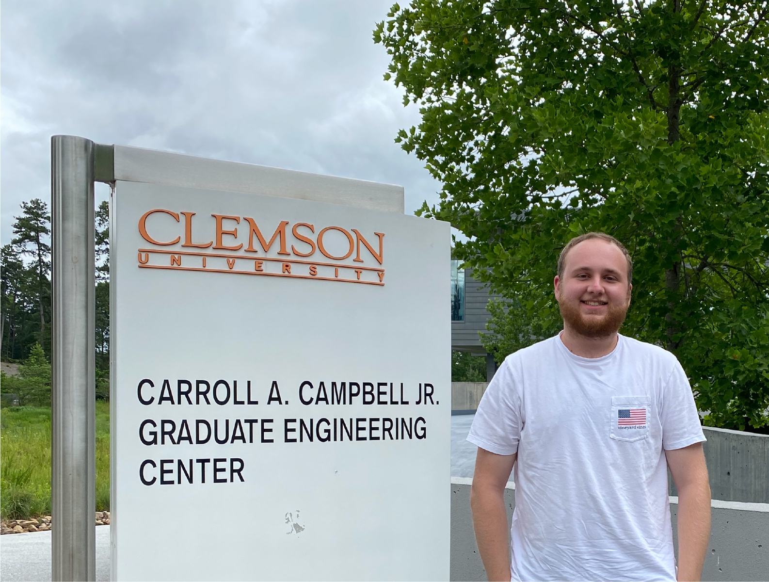 Zachary Wolff at Clemson University for his Fellowship.