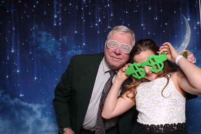 2.1.2019 (booth 2) Woodland Heights Daddy Daughter Dance Love You to the Moon and Back (Booth 2)