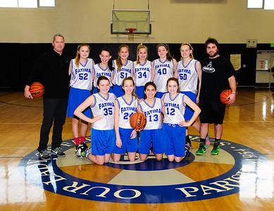 2016-17 8th Girls hoops
