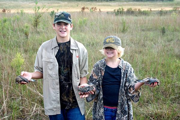 Family Dove Hunt - 2010
