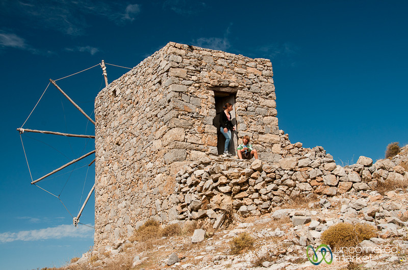 Venetian Windmills - Crete, Greece