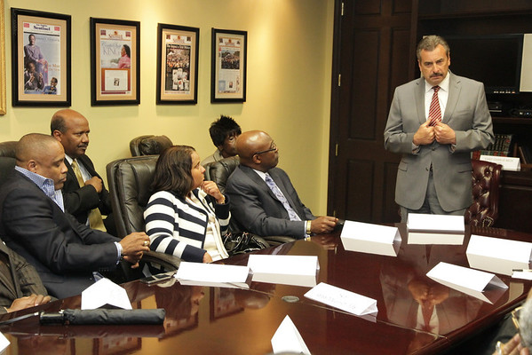 """""""LAPD Chief Charlie Beck Speaks to African American Clergy in LA"""" 2-19-2013"""