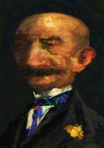 Winslow Homer (Caricatured)