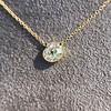 1.02ct Antique Heart Diamond Bezel Pendant 2