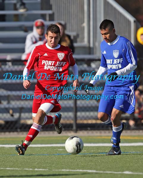 Suffolk Red 1 vs Nassau Blue 1 All Star game 11-22-14