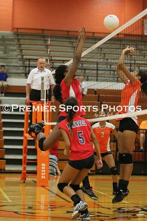 La Porte Freshman Volleyball vs Manvel 9/3/2014