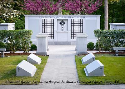 Memorial Garden Expansion Dedication