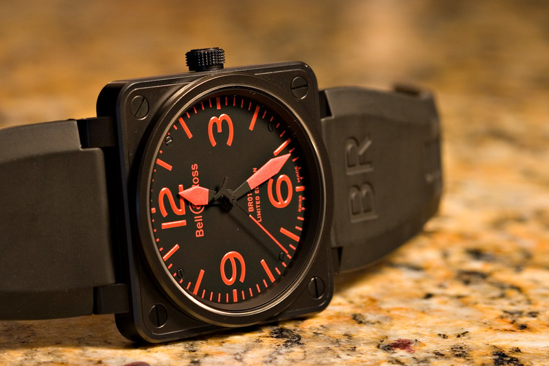 Bell & Ross BR01-92 Limited Edition Red