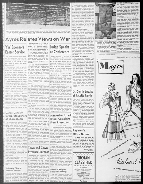 Daily Trojan, Vol. 33, No. 100, January 29, 1942
