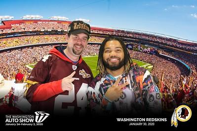 Washington Redskins Day @ 2020 Washington Auto Show