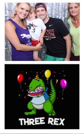 Pruitt's Three-Rex Birthday