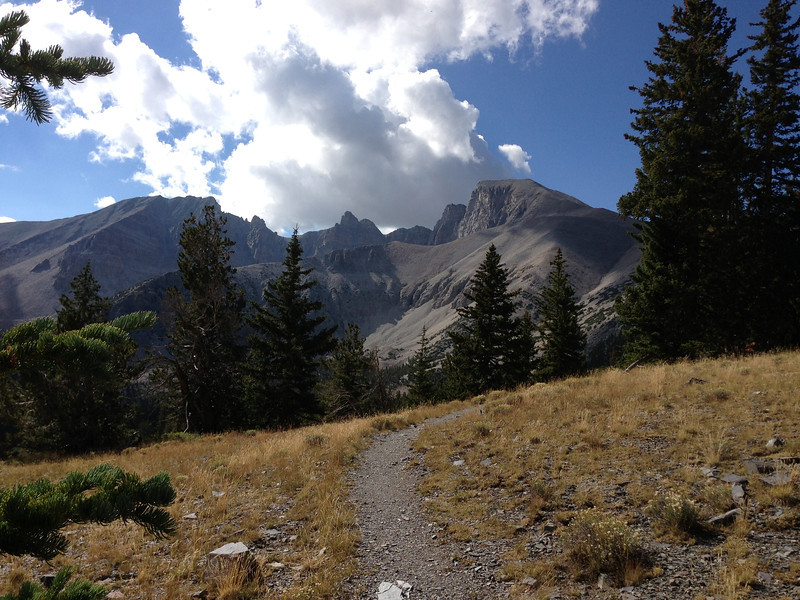 Wheeler Peak 13,063 ft in route to Durango - the acclimitization continues