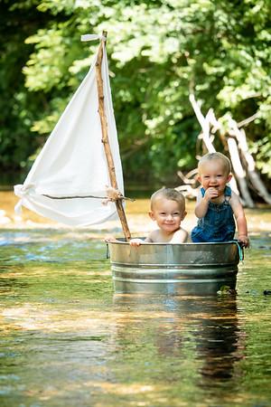 Benson & Wesley Go Sailing