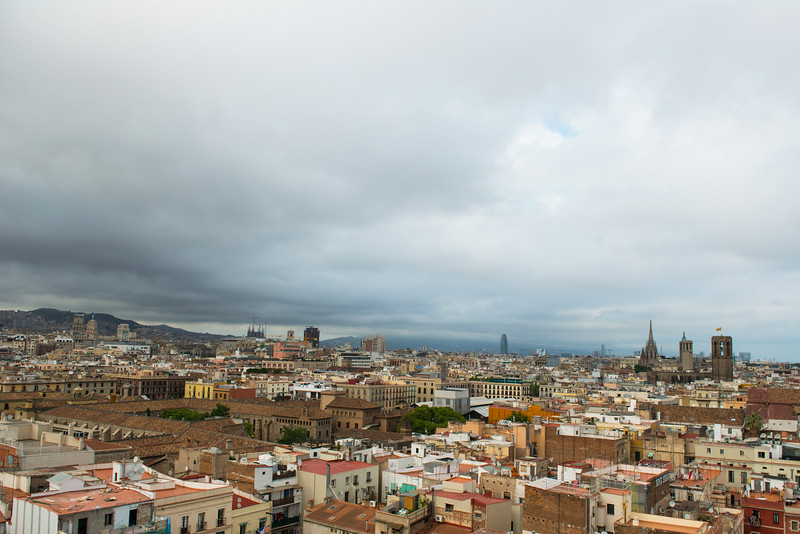 View from El Raval