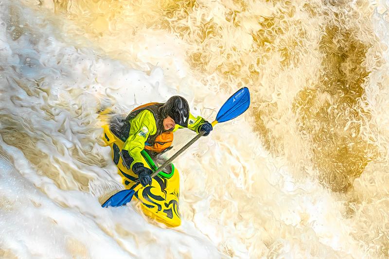 Kayak Race Cuyahoga Falls 2019