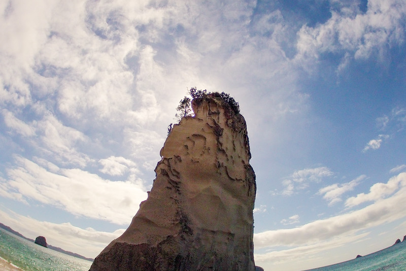 GoPro wide view; Cathedral Cove GP0068