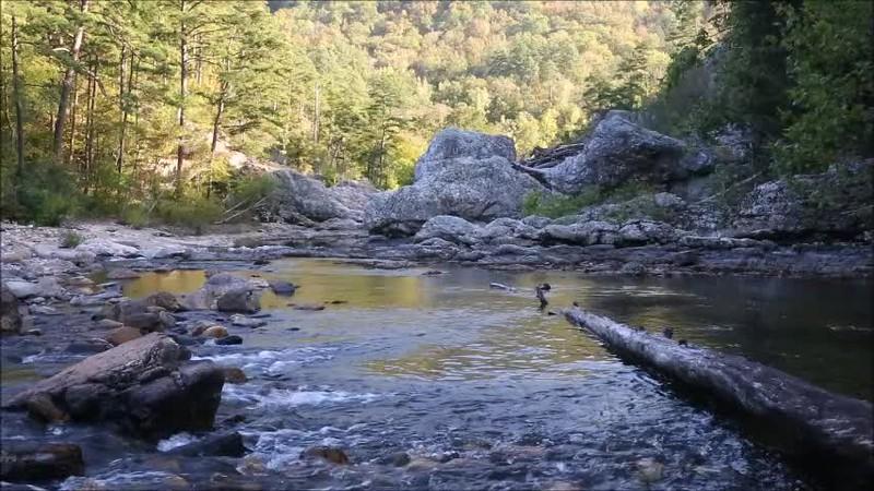 Winding Stairs - Little Missouri River - Ouachitas of Arkansas