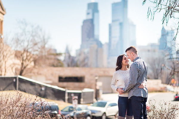 Megan & Kevin Engagement Philly