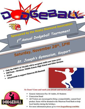 2015 MARSD Baseball Dodgeball Tournament