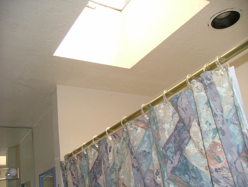 skylight in main bath