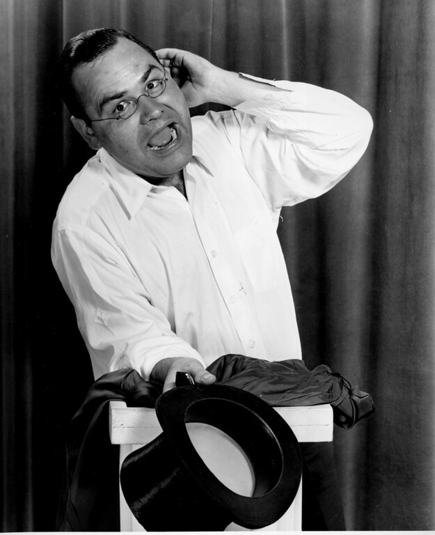 . Comedian Jonathan Winters is shown in Hollywood, Ca., Aug. 12, 1955.  (AP Photo)