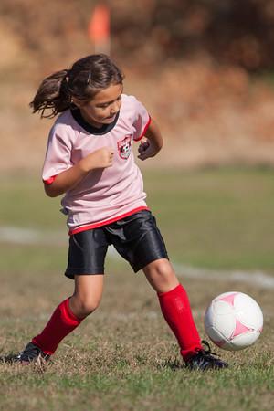 Pink Ladys Folsom Soccer Club - 10-20-2012