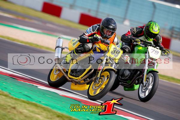 CB500 Senior & F/Man Donington TSGB 2021