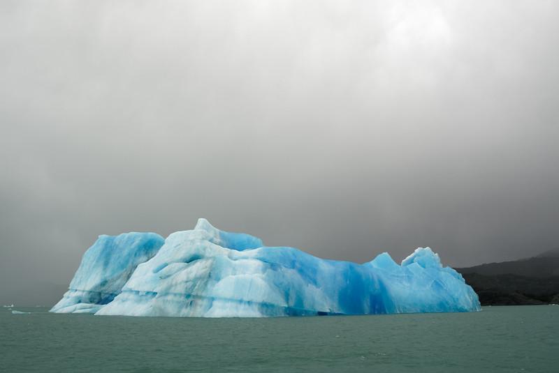 Iceberg and Stromy Sky