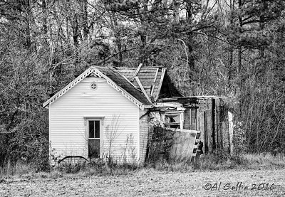 "©Al Gallia; ""Fixer Upper""; Southeastern Tennessee, near Tullahoma. There was a feeling of sadness as I looked at this nostalgic scene."