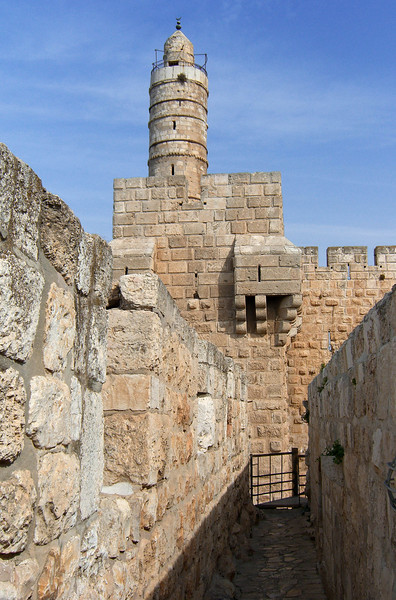 20-I walked the Old City wall ramparts, going south from the Tower of David at Jaffa Gate, then eastward along the south wall, heading for the Western Wall of the Temple Mount.