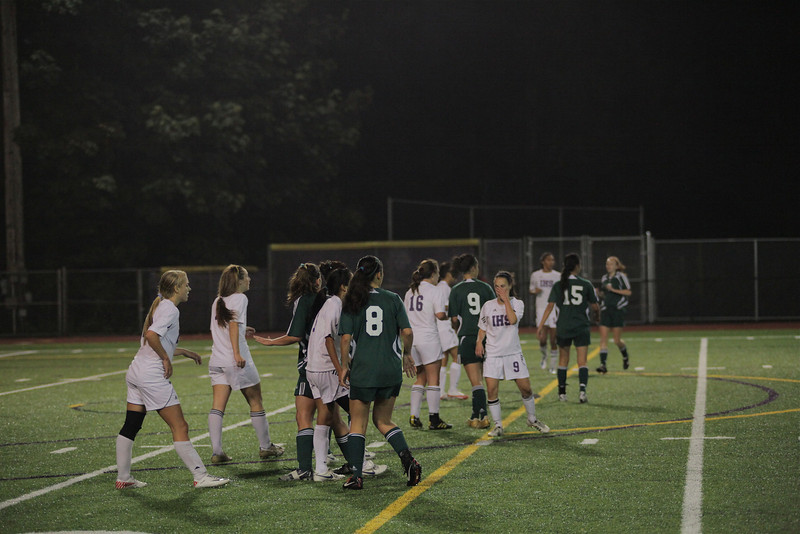 Woodinville High Girls Varsity Soccer verse Issaquah High October 6, 2011, Issaquah Washington   ©Neir