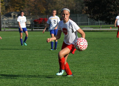LTS M.S. Girls Soccer vs Poultney photos by Gary Baker
